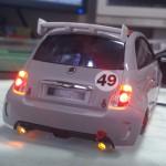 Mini-z Abarth500 電飾取り付け12