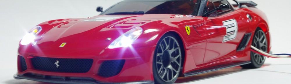 フェラーリ599XX 点灯写真フロント2