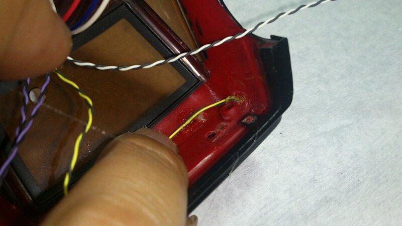 AE86 ミニッツ電飾 レッドバージョン リア blinkers