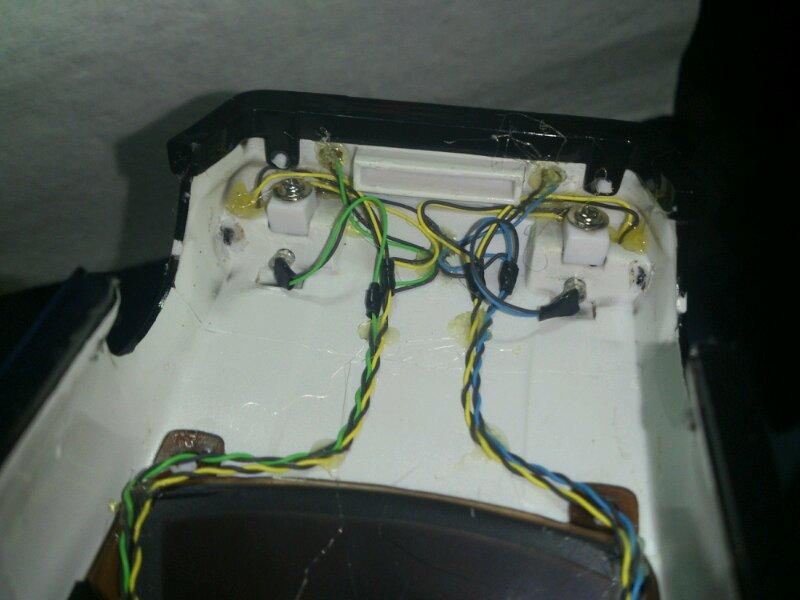 AE86 ミニッツ電飾 エアロwithカーボン フロント配線