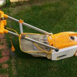 手動芝刈り機 ゴールデンスター GSB-2000 バーディーモアの購入前のリョービ