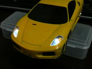 ミニッツ電飾職人 フェラーリ F430 GT イエロー 20091220_01_02