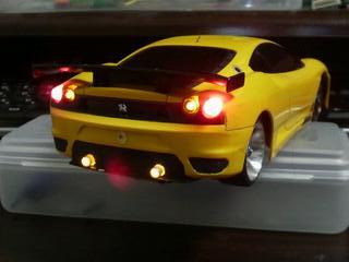 ミニッツ電飾職人 フェラーリ F430 GT イエロー 20091220_01_03