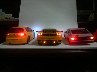 ミニッツ電飾職人 フェラーリ F430 GT イエロー 20091220_02_02