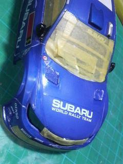 ミニッツレーサー電飾 スバル インプレッサ WRC2008 No.5