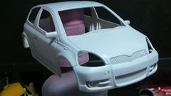 【Mini-z】 トヨタ Vitz RS [過去ログ-02] 電飾加工