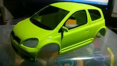 【Mini-z】 トヨタ Vitz RS [過去ログ-03] 塗装