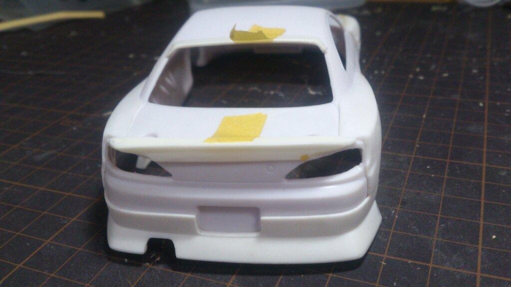 ミニッツレーサー 電飾職人: 日産 シルビア S15 オリジナル塗装 with ガレージHIRO