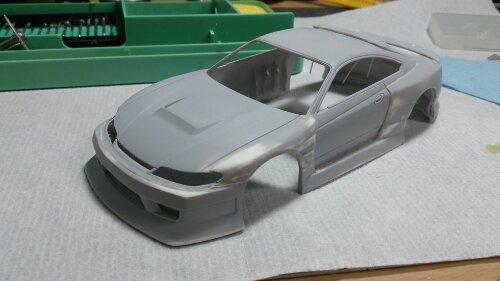 日産 シルビア S15 オリジナル塗装 with ガレージHIRO